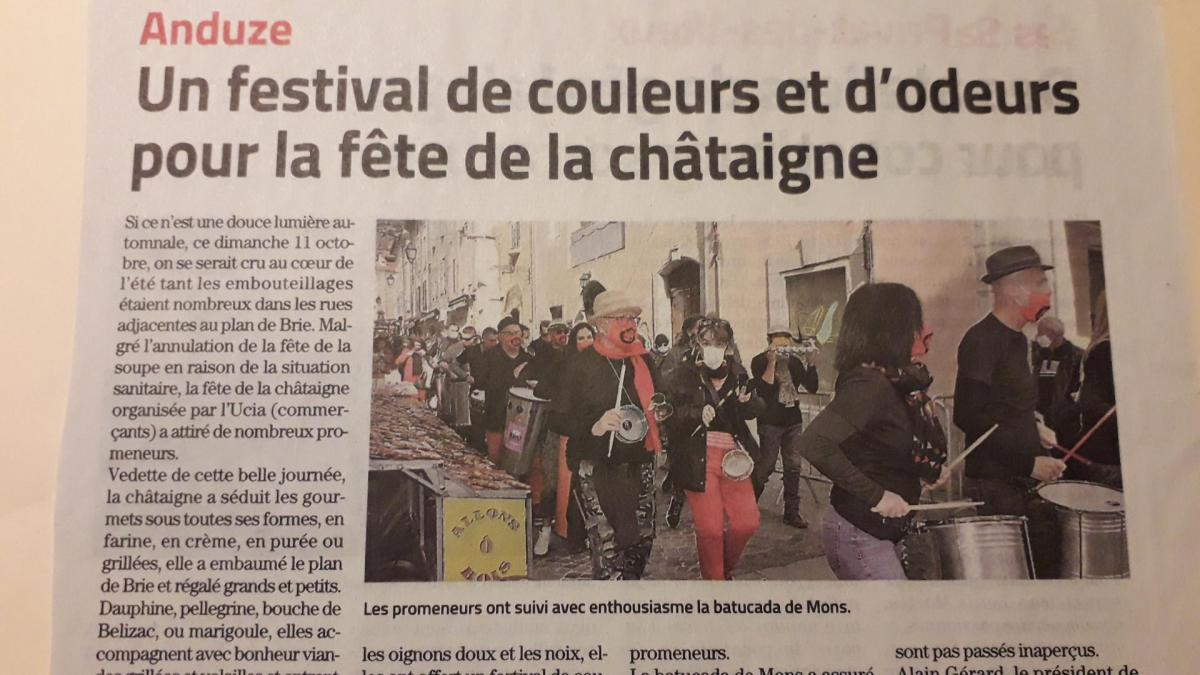 Article anduze 11 oct